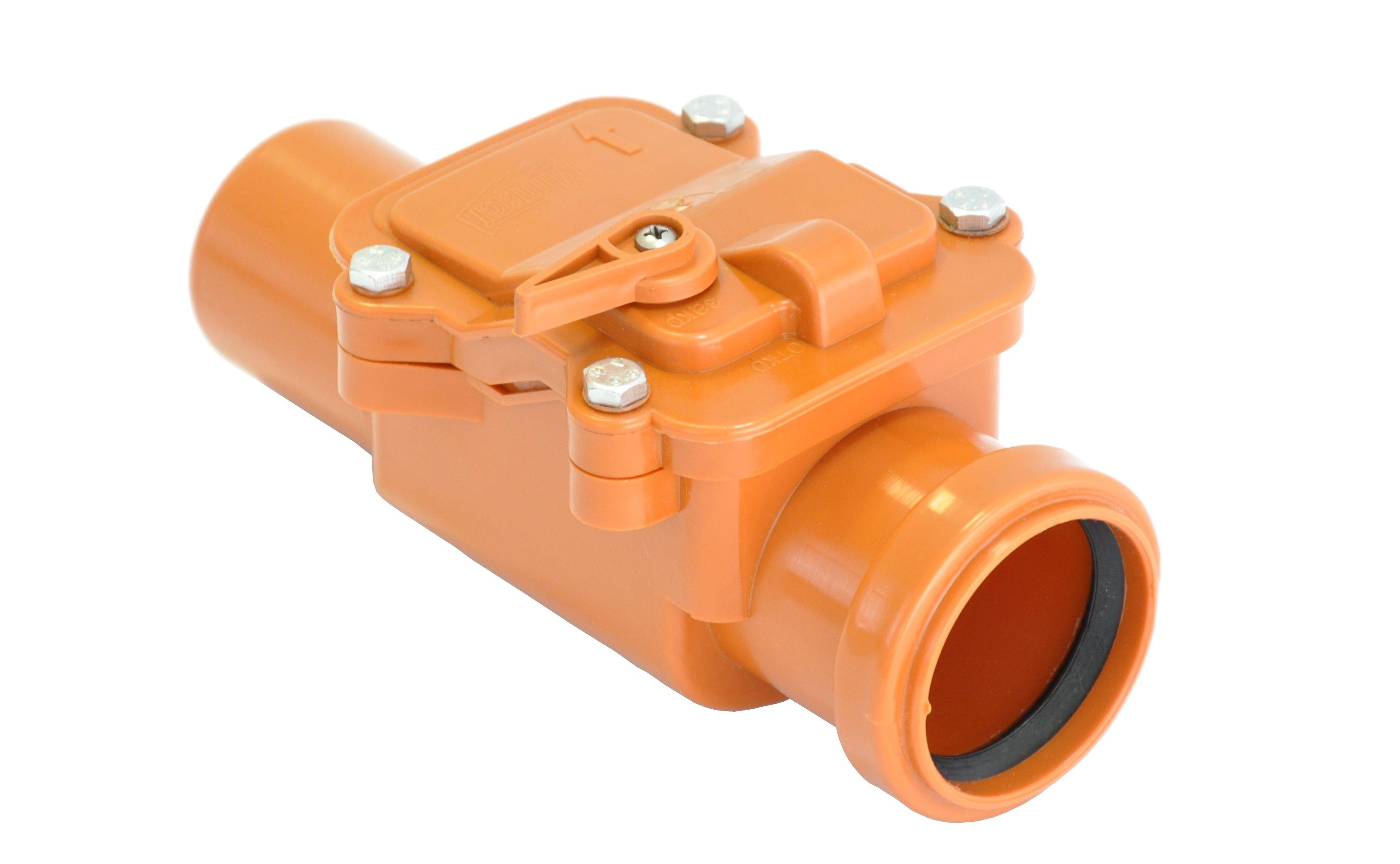 канализация обратный клапан 110
