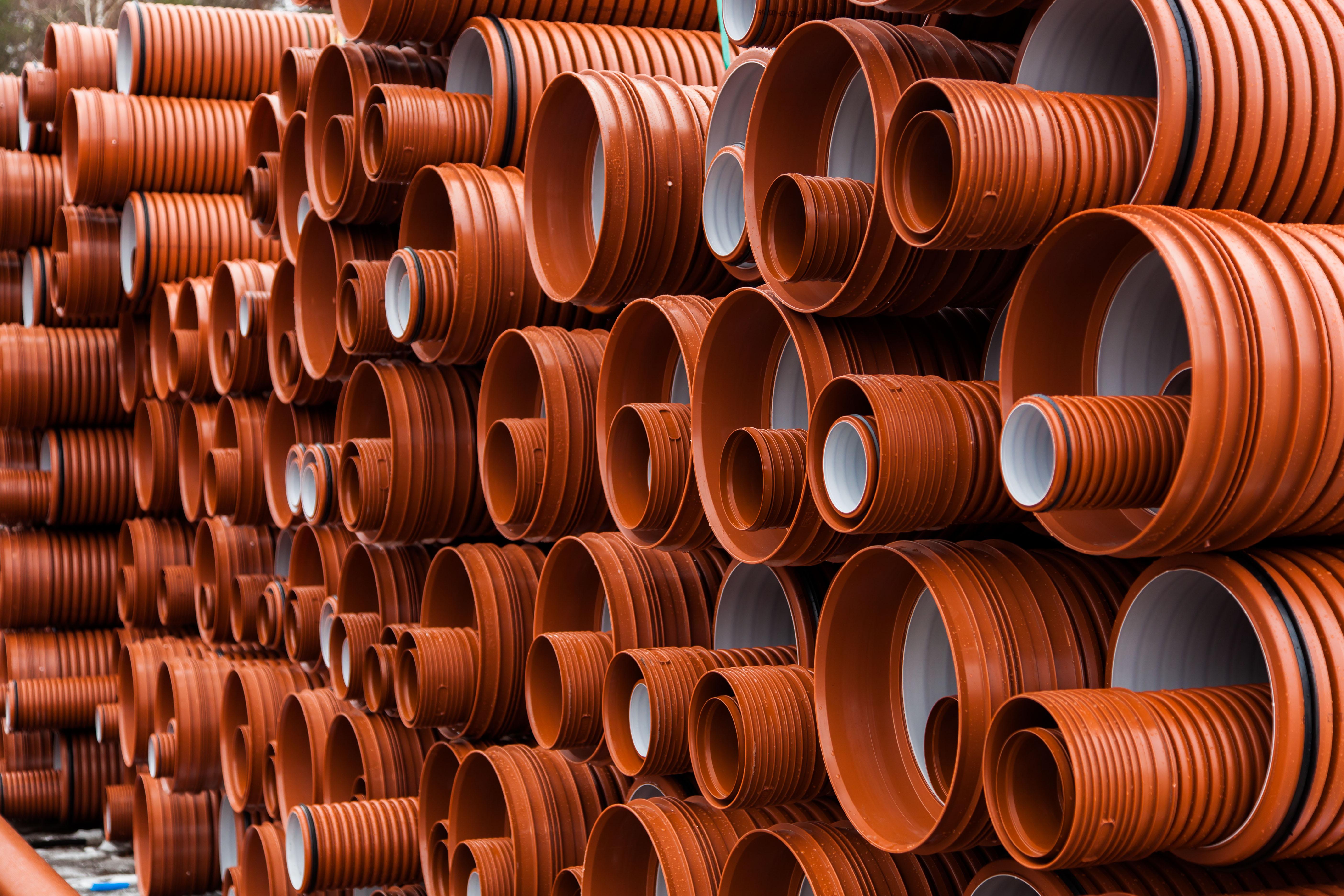трубы гофрированные для канализации