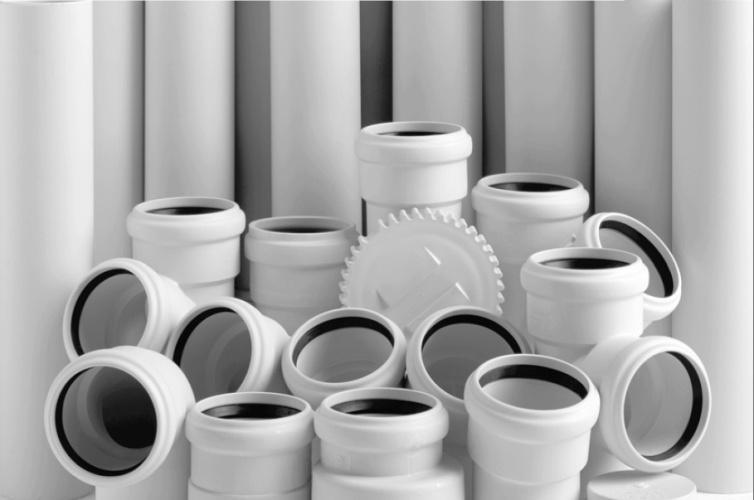 Трубы белые канализационные