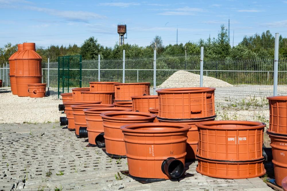 Колодцы для канализации пластиковые